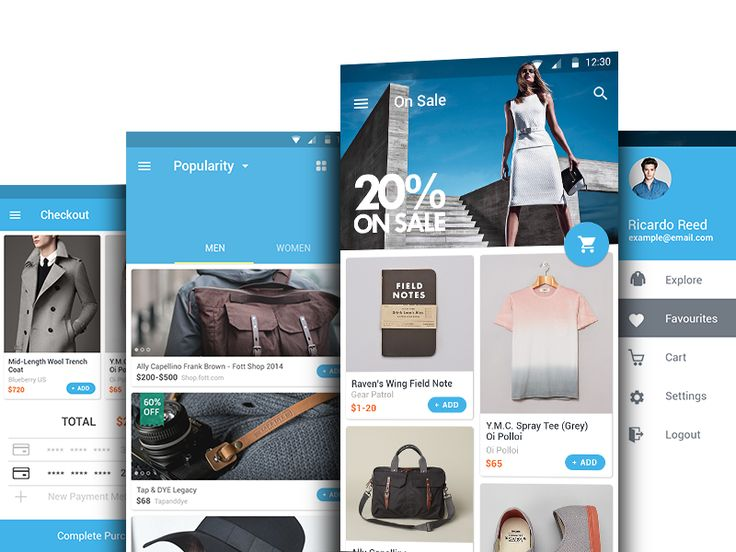 wish, wish app, shopping, mobile, app development, project, Octodev