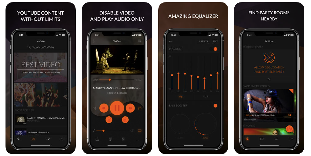 Best Apps to Listen to Music on iOS in 2019 - OctoDev
